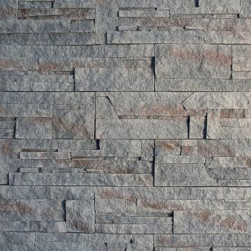 Gebrochener Stein, Grau